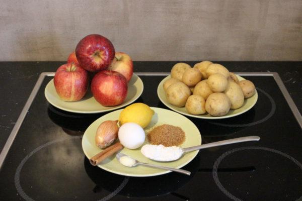 Kartoffelpuffer mit Apfelmus 01-1200