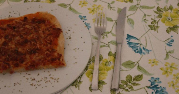 Klassiker: Schinken-Pizza