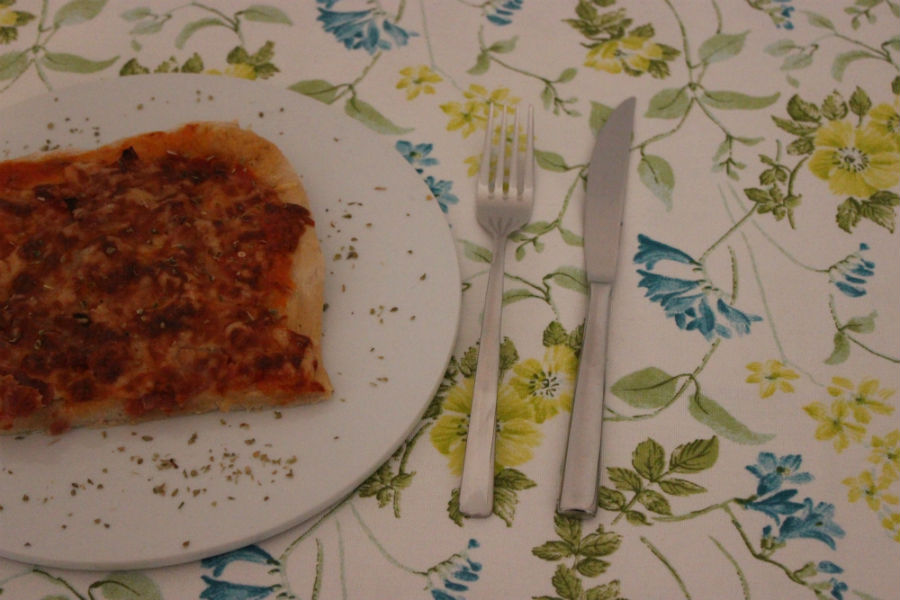 Schinken-Pizza 00